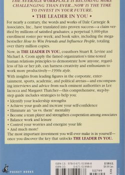 the leader in you, how to win friends, influence people and succeed in a changing world2